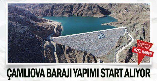 Çamlıova Barajı yapımı start alıyor