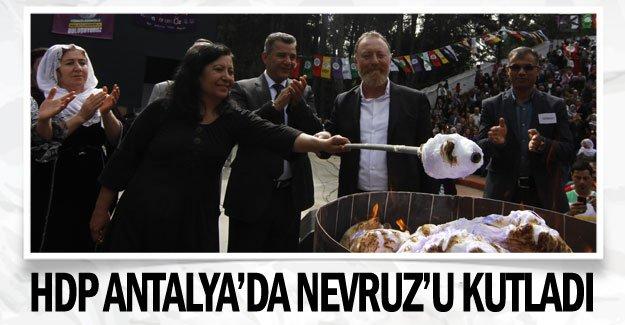 HDP Antalya'da Nevruz'u kutladı