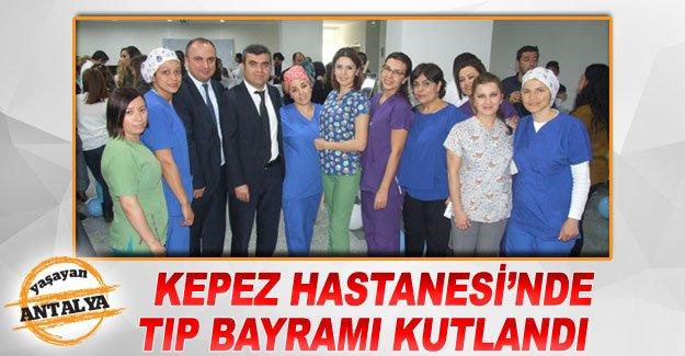 Kepez Hastanesi'nde Tıp Bayramı kutlandı