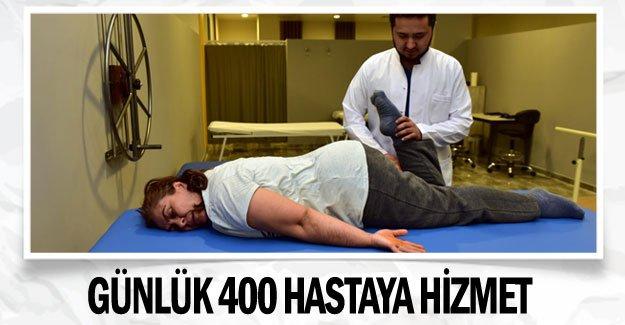 Günlük 400 hastaya hizmet