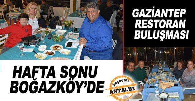 Hafta sonu Boğazköy'de