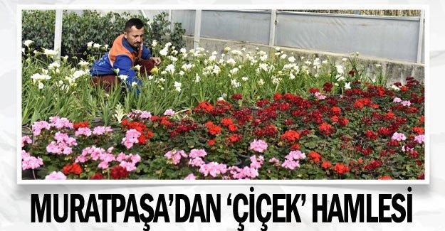 Muratpaşa'dan 'Çiçek' hamlesi