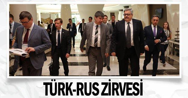 Türk-Rus zirvesi