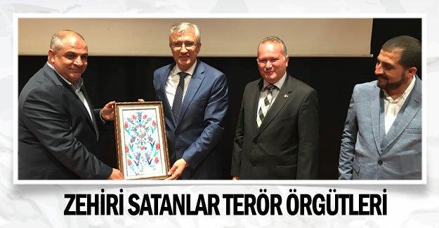 Zehiri satanlar terör örgütleri