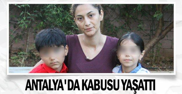 Azeri eski koca, Antalya'da kabusu yaşattı