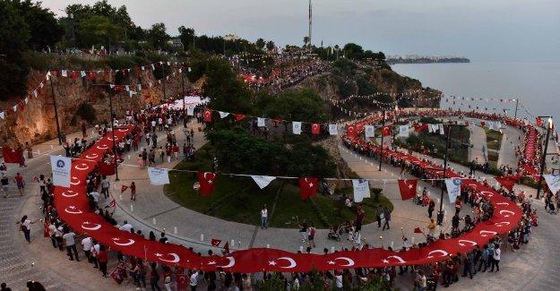 Antalya fener alayında buluştu