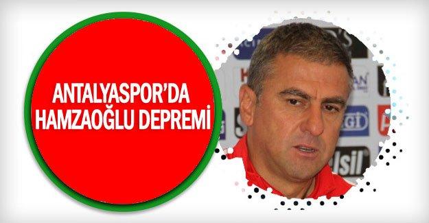Antalyaspor'da Hamzaoğlu depremi