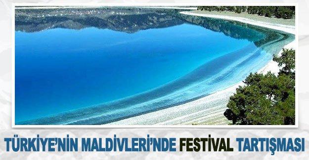 Türkiye'nin Maldivleri'nde festival tartışması