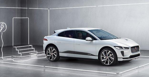 Yeni Jaguar I-PACE ön  gösterimi showroomlarda
