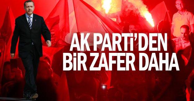 AK Parti'den bir zafer daha