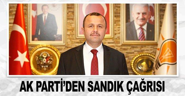 AK Parti'den sandık çağrısı