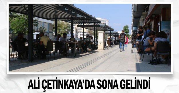 Ali Çetinkaya'da sona gelindi