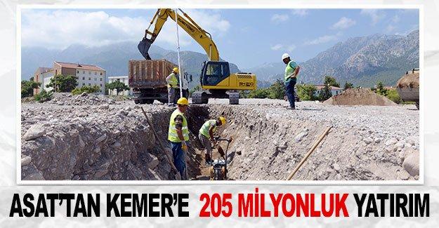 ASAT'tan Kemer'e  205 milyonluk yatırım