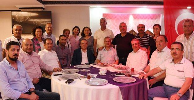 CHP'den  şehit yakınları  ve gazilere iftar