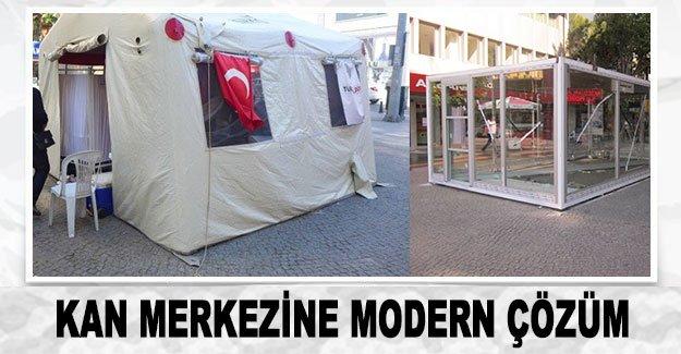 Kan merkezine  modern çözüm