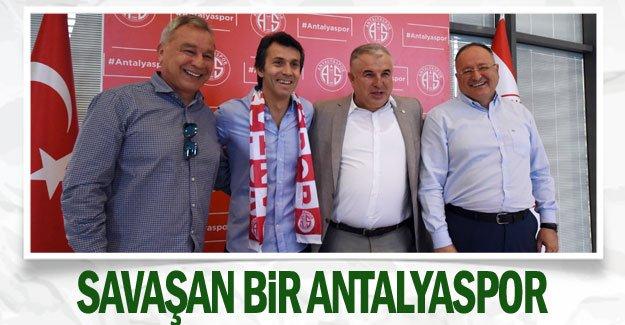 Savaşan bir Antalyaspor