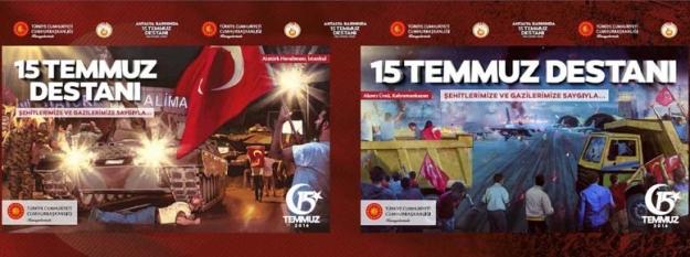 Antalya Basınında 15 Temmuz Destanı