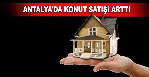 Antalya'da konut satışı arttı