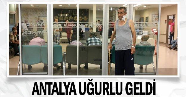 Antalya uğurlu geldi