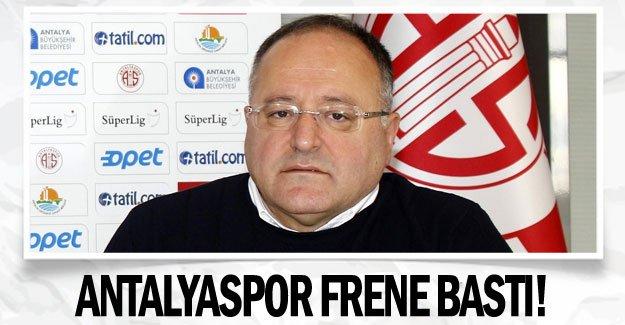 ANTALYASPOR FRENE BASTI!