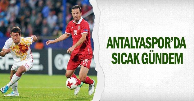 Antalyaspor'da sıcak gündem