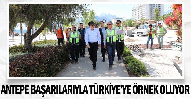 ANTEPE başarılarıyla Türkiye'ye örnek oluyor