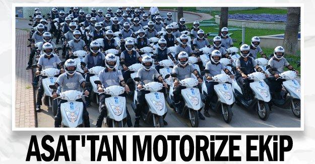 ASAT'tan motorize ekip