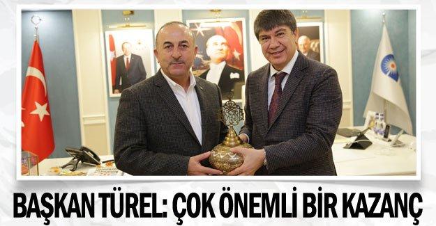 Başkan Türel: Çok önemli bir kazanç