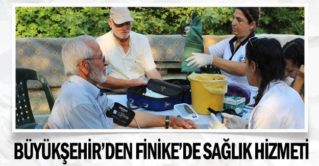 Büyükşehir'den Finike'de Sağlık hizmeti