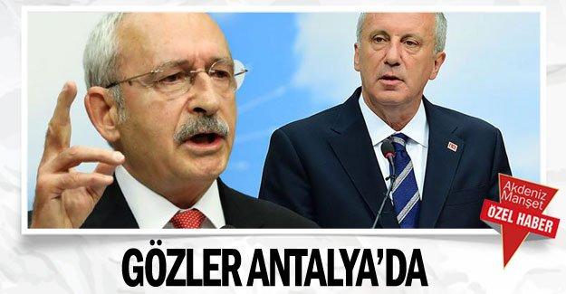 Gözler Antalya'da