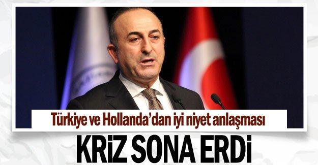 KRİZ SONA ERDİ