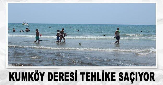 Kumköy deresi tehlike saçıyor