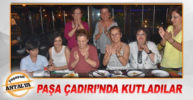 Paşa Çadırı'nda kutladılar
