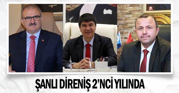 ŞANLI DİRENİŞ 2'NCİ YILINDA