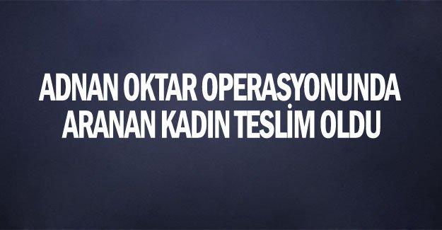 Trabzon'da  teslim oldu