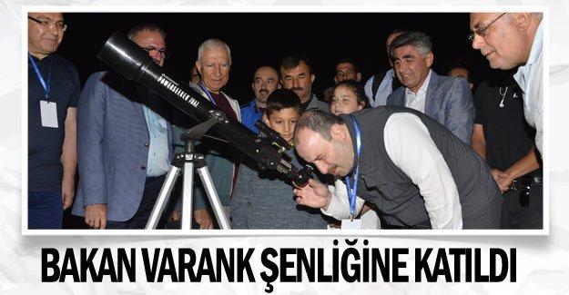 Bakan Varank şenliğine katıldı