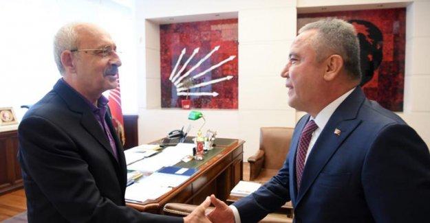 Böcek, Kılıçdaroğlu ile buluştu