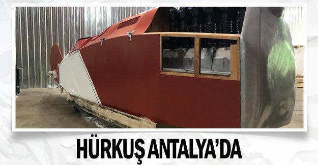 Hürkuş Antalya'da