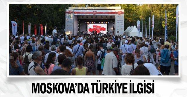 Moskova'da Türkiye ilgisi