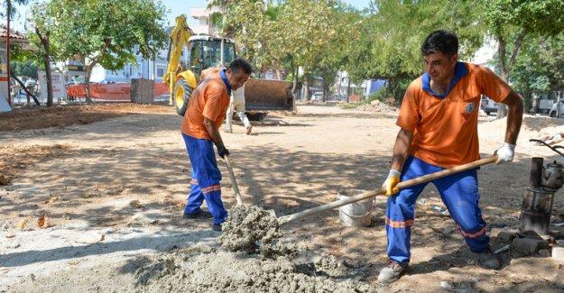 Seyit Ali Pamir parkı yenileniyor
