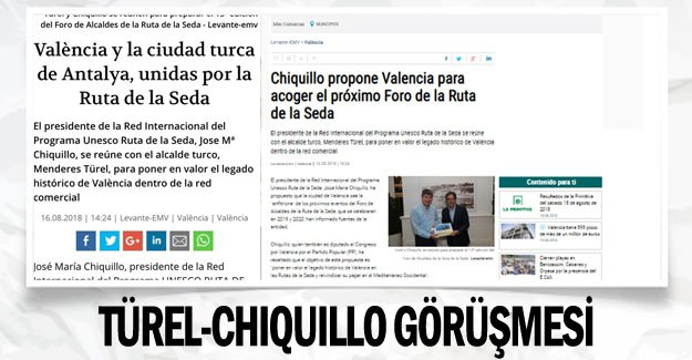 Türel-Chiquillo görüşmesi