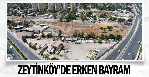 Zeytinköy'de erken bayram