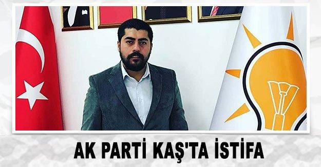 Ak Parti Kaş'ta istifa