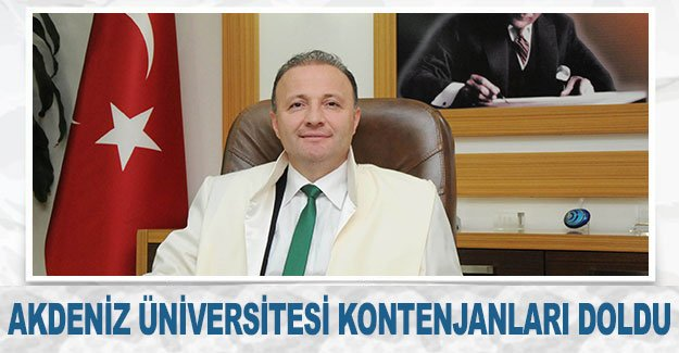 Akdeniz Üniversitesi kontenjanları doldu