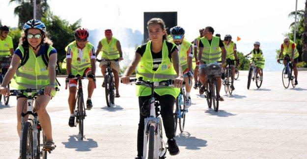 Bisikletliler 'Sepsis' için pedalladı