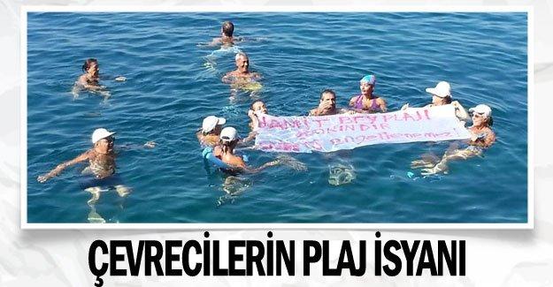 Çevrecilerin plaj isyanı
