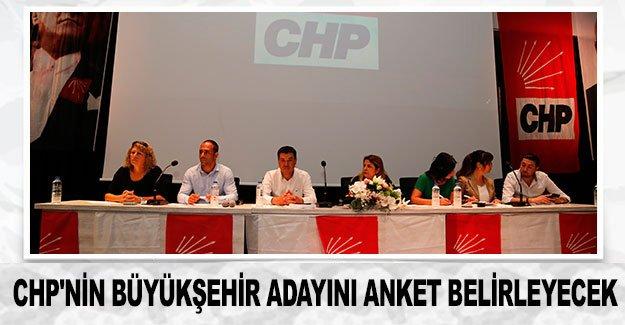CHP'nin büyükşehir adayını anket belirleyecek