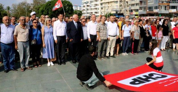 CHP'nin 95'inci  kuruluş yıl dönümü