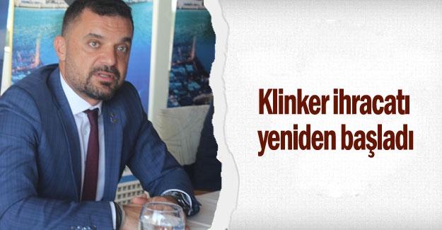 Klinker ihracatı yeniden başladı
