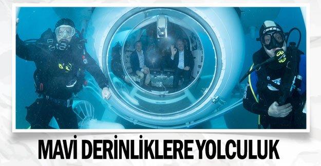 Mavi derinliklere yolculuk